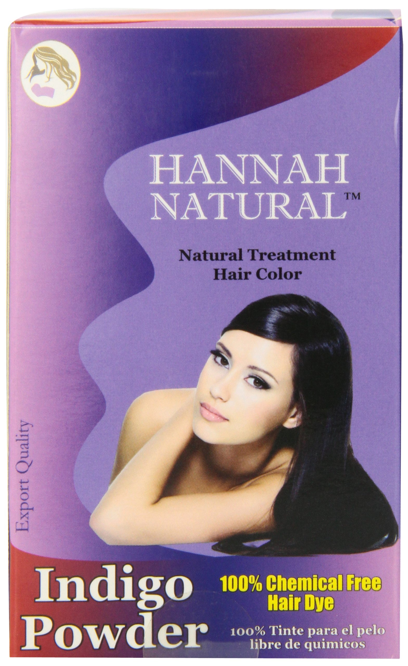 Amazon Hannah Natural 100 Pure Indigo Powder For Hair Dye