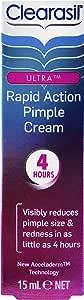 Clearasil Ultra Rapid Treatment Reduce Pimples Cream, 15g