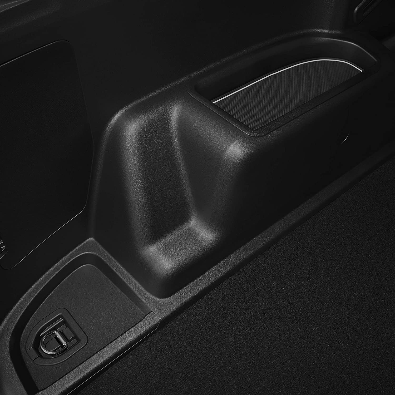 Premium Cup Holder and Door Pocket Inserts 27-pc Set Console 2 Rows of Seats Solid Black CupHolderHero for Toyota 4Runner 2010-2020 Custom Liner Accessories