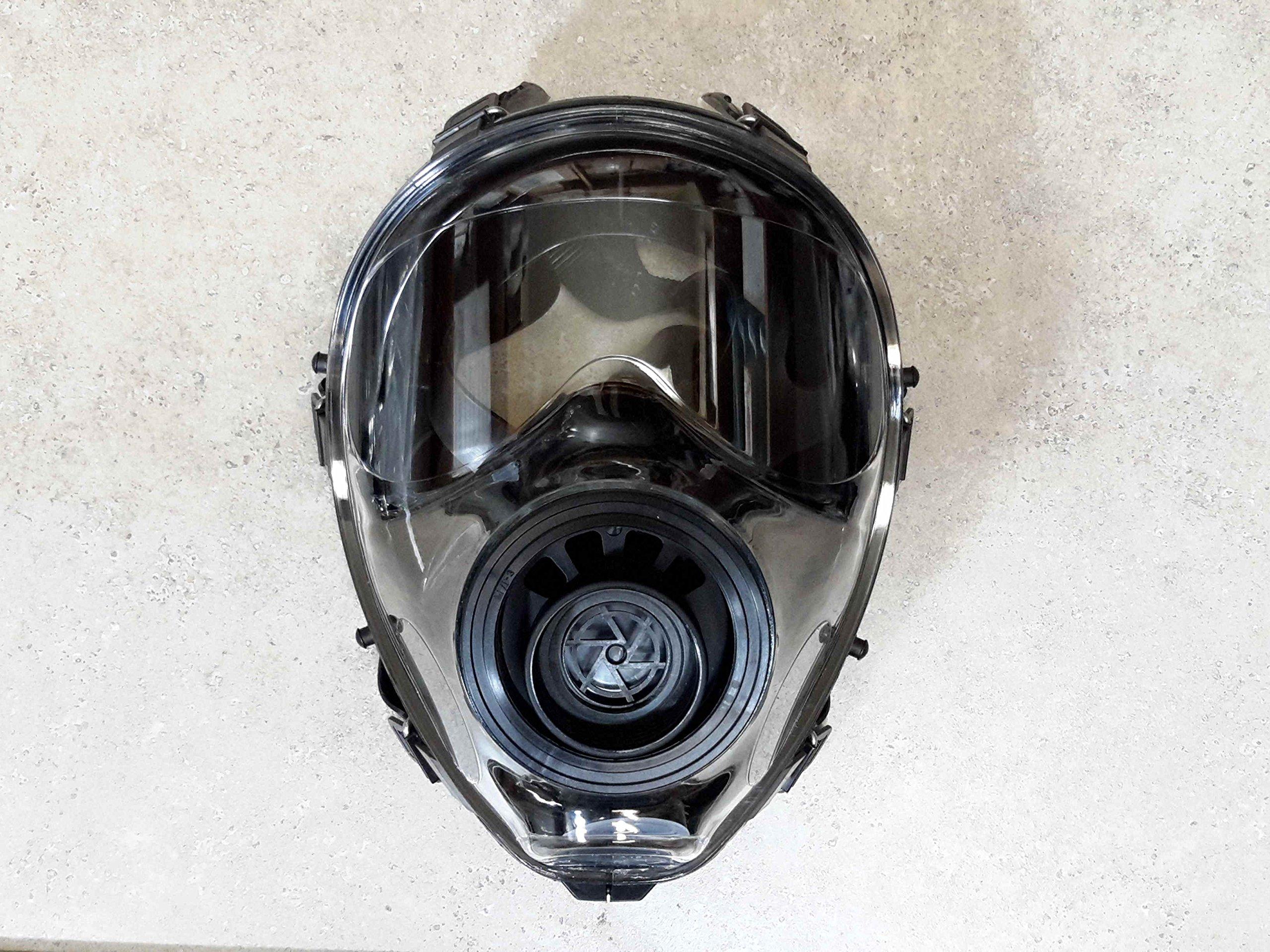 Israeli Military Spec Gas Mask NBC 40mm Full Face Emergency Preparedness Respirator - Made in 2017 (150 - Med/Lrg Gas Mask)