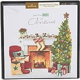 Hallmark - Biglietti di Natale, motivo: Lucy Cromwell, 18 pezzi, 4 motivi assortiti [lingua inglese]