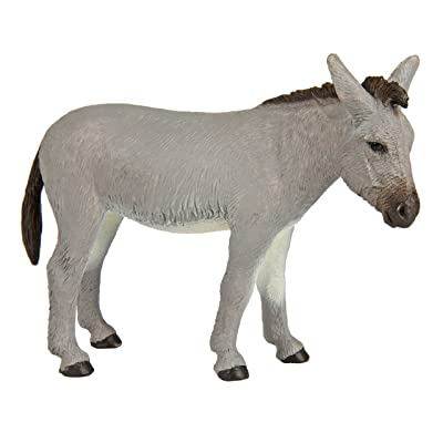 Safari Ltd. Farm Donkey – Realistic Hand Painted Toy Figurine Model – Quality Construction from Phthalate, Lead and BPA Free Materials – For Ages 3 and Up: Toys & Games