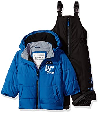 274eaced1 Amazon.com  Carter s Baby Boys Heavyweight Bubble 2-Piece Snowsuit ...