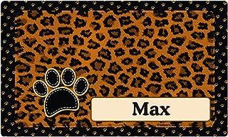 "product image for Drymate Personalized Pet Place Mat 12""X20"" - Furtitude Custom Pet Food Mats"