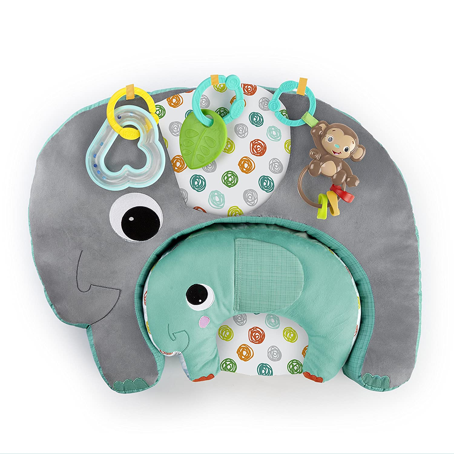 Bright Starts Two Can Play Multi-Use Cushion Set