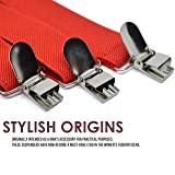 Action Ward Women's Suspenders Red - Y Style