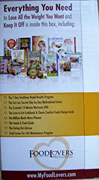 Amazon Com Food Lovers Fat Loss System Eat All Your Favorite