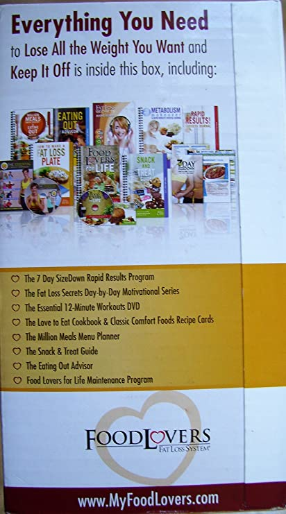 Amazon food lovers fat loss system eat all your favorite amazon food lovers fat loss system eat all your favorite foods lose all the weight you want everything else forumfinder Choice Image