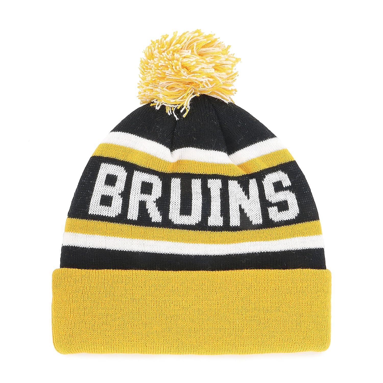 NHL Mens  OTS Jasper Cuff Knit Cap with Pom