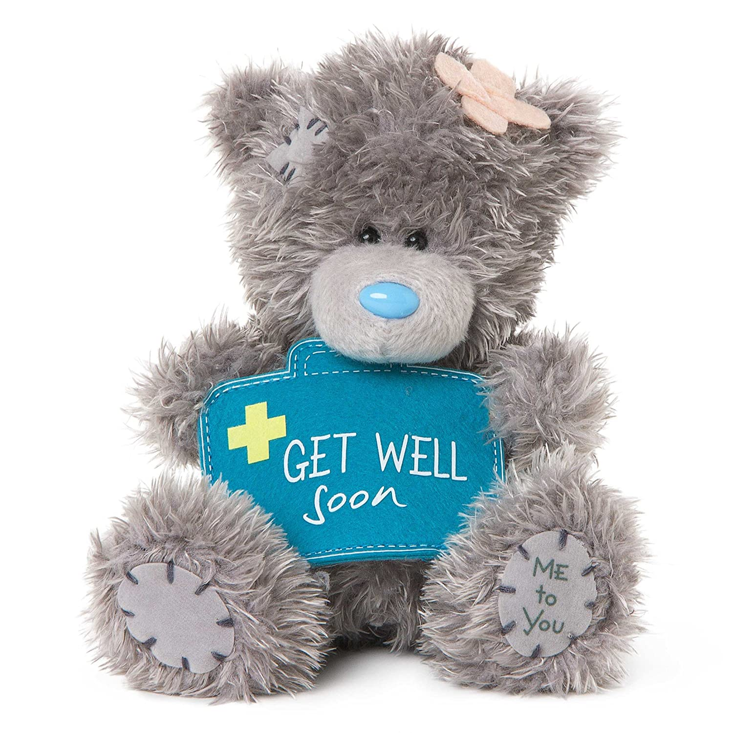 Me to You Get Well Soon Gift First Aid Kit Tatty Teddy Bear, Nylon/A Carte Blanche Greetings SG01W4076
