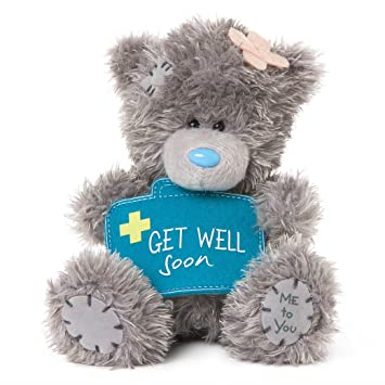 Me To You Sg01w4076 Tatty Teddy Teddybar Mit Erste Hilfe Set Schild
