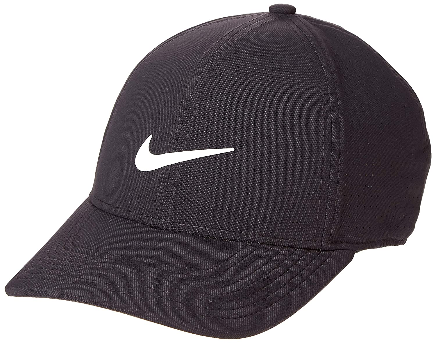 adc9e4d455a Amazon.com  NIKE AeroBill Legacy 91 Performance Statement Golf Cap 2018   Sports   Outdoors