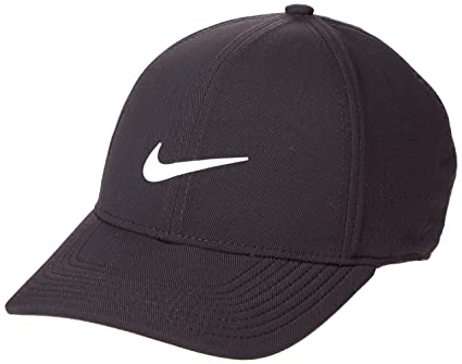 92cd2f323cc NIKE AeroBill Legacy 91 Performance Statement Golf Cap 2018  Black Anthracite Anthracite White