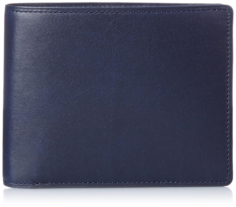 [ミカド] 二つ折り財布 シャトーブリアン シリーズ MK228015 B0167T03XQ ネイビー ネイビー