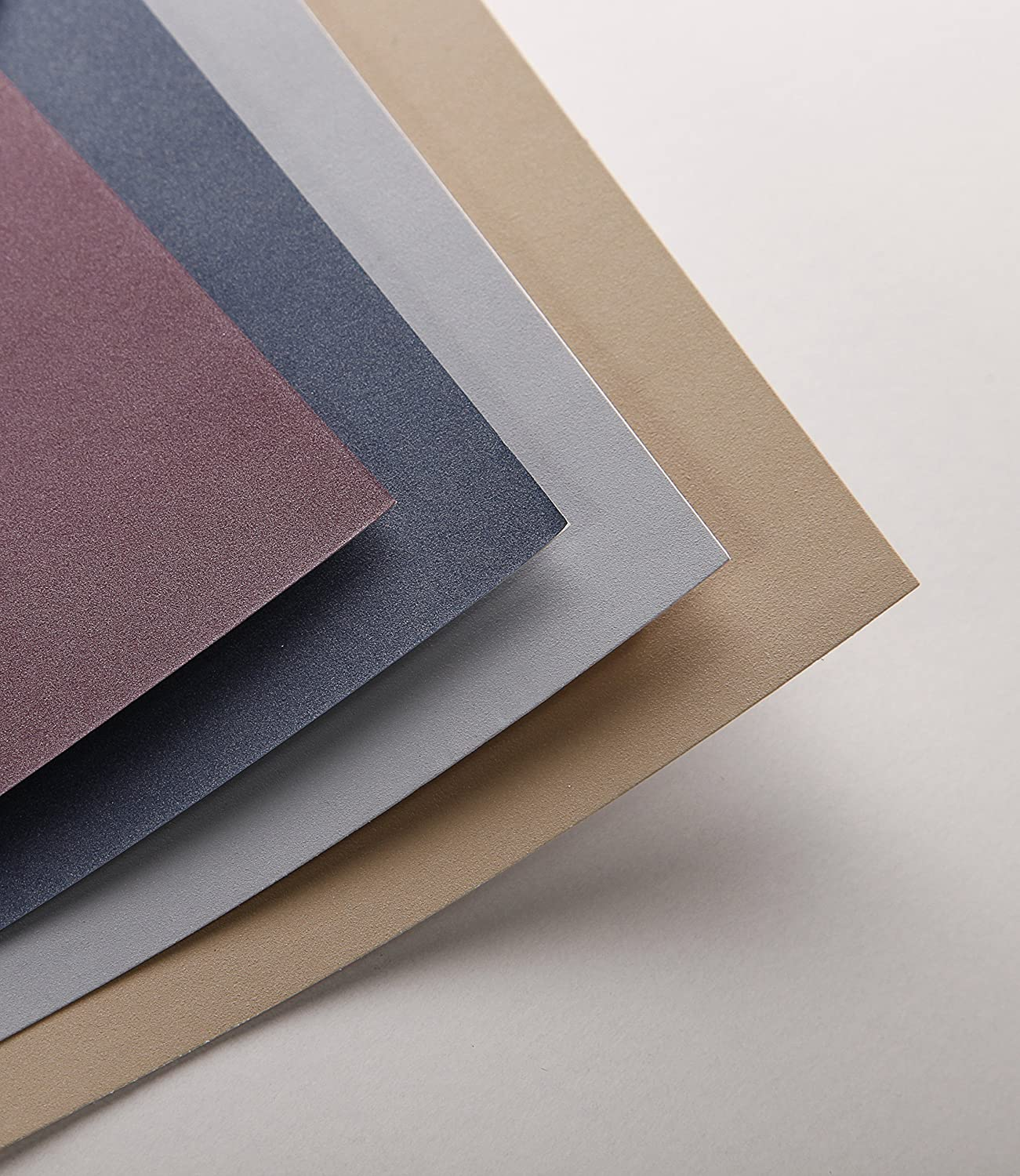 18 x 24 cm Assorted Colours 360 g Clairefontaine PastelMat Pastel Card Pad No4 12 Sheets