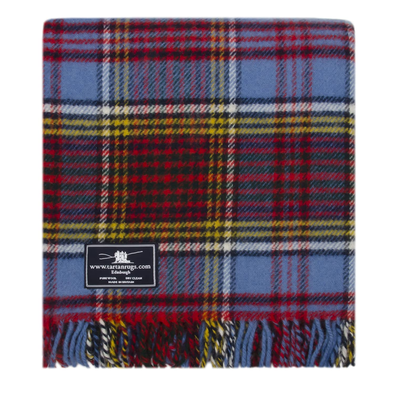 Anderson Tartan Premium Wool Travel Rug Tweedmill Textiles MFH/A