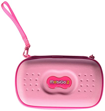 efcfeaf318 Amazon.com  VTech MobiGo Touch Learning System - Carry Case (Pink)  Toys    Games