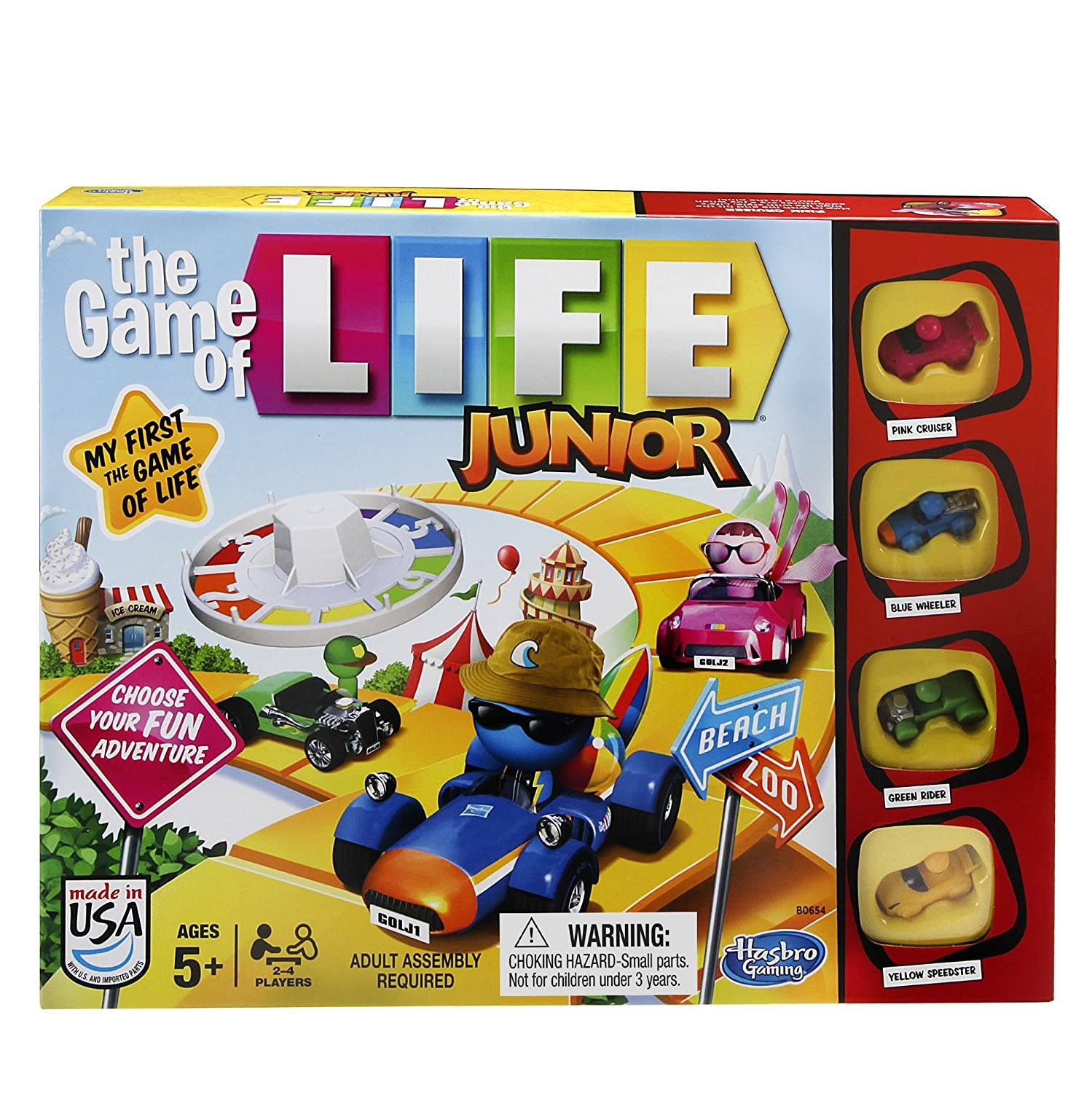 Amazon The Game of Life Junior Game Toys & Games
