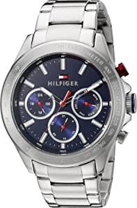 Tommy Hilfiger Men's Dial Stainless Steel Band Watch - 1791228