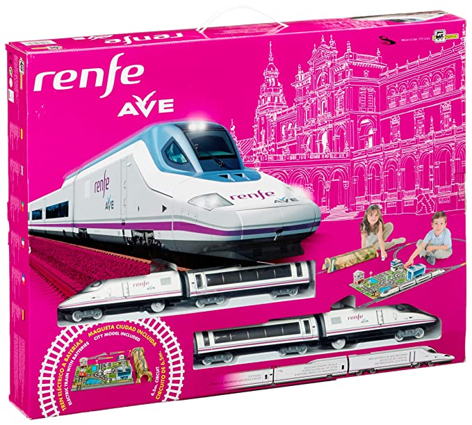 Amazon.com: Pequetren Pequetren720 High Speed Renfe Ave ...