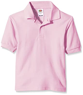 Polos Fruit of the Loom roses homme aBg7TjIK