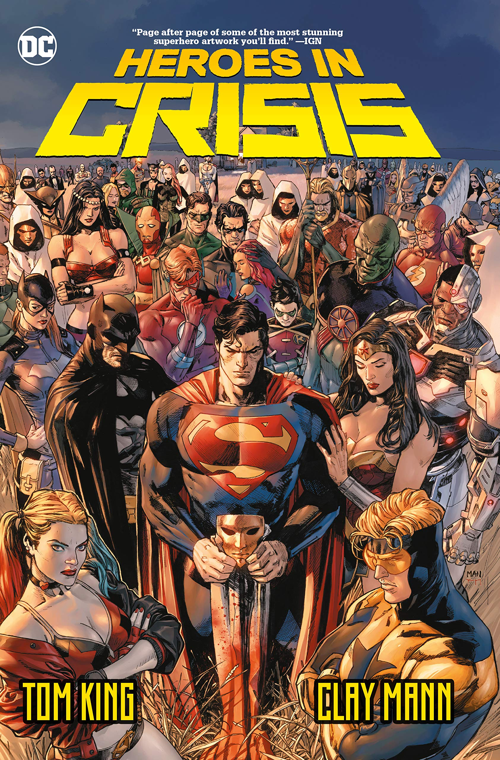 Heroes in Crisis by DC Comics