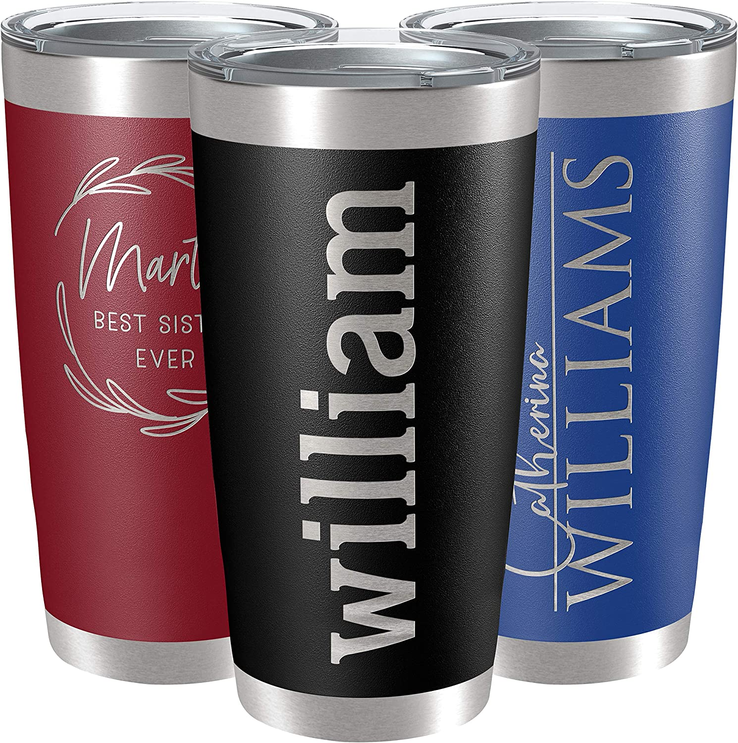 Texas Cup USA Stainless Wine Tumbler New York Florida Cup ANY STATE cup Personalized Engraved Skinny 20 oz Tumbler California Cup