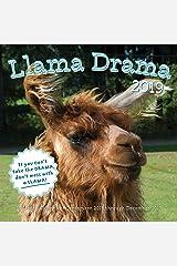 Llama Drama 2019: 16-Month Calendar - September 2018 through December 2019 Calendar