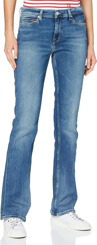 Tommy Hilfiger Maddie Mr Bootcut Evmbcf Pantalones para Mujer