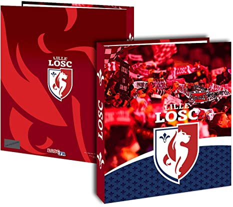 Collection Officielle LILLE OLYMPIQUE SPORTING CLUB Trousse Scolaire LOSC