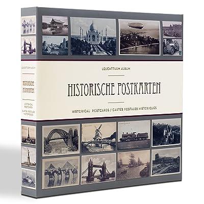 Album pour 600 cartes postales anciennes, avec 50 feuilles transparentes reliées