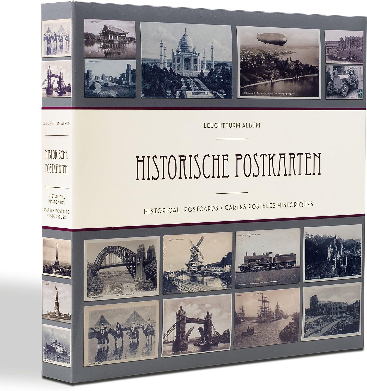 Album para 600 tarjetas postales históricas, con 20 fundas transparentes: Amazon.es: Juguetes y juegos