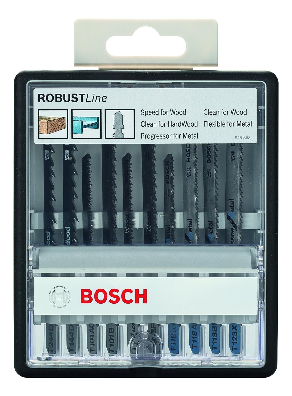 Bosch 2607010542 - Calar wood&metal t: robustline 10uds