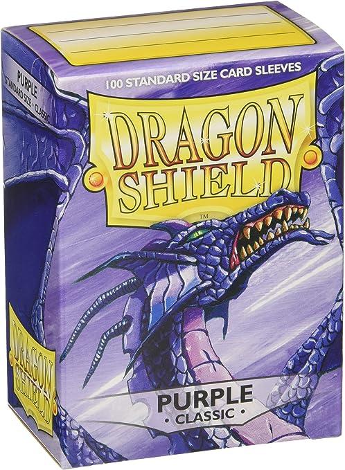 100 Dragon Shield Matte Purple Shield Sleeves Free Shipping