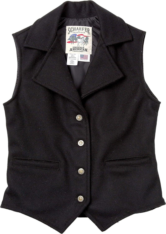 Victorian Men's Vests and Waistcoats Schaefer Outfitters Vest for Men Classic Fitted Ranchwear Wool Vest 805 Cattle Baron Vest $140.00 AT vintagedancer.com