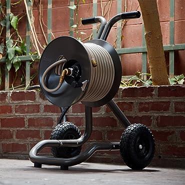 Eley Two Wheel Garden Hose Reel Cart Model 1043
