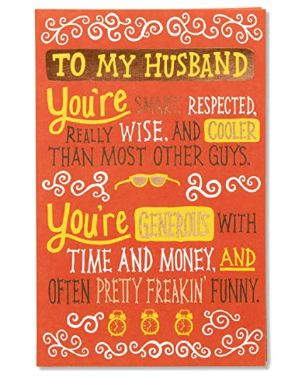 Amazon in love with you fathers day card for husband with in love with you fathers day card for husband with foil m4hsunfo