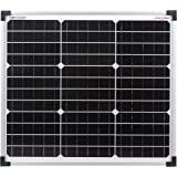 Módulo de panel solar monocristalino de enjoysolar®, 30 vatios, 12 V, ideal para el jardín, furgoneta o caravana