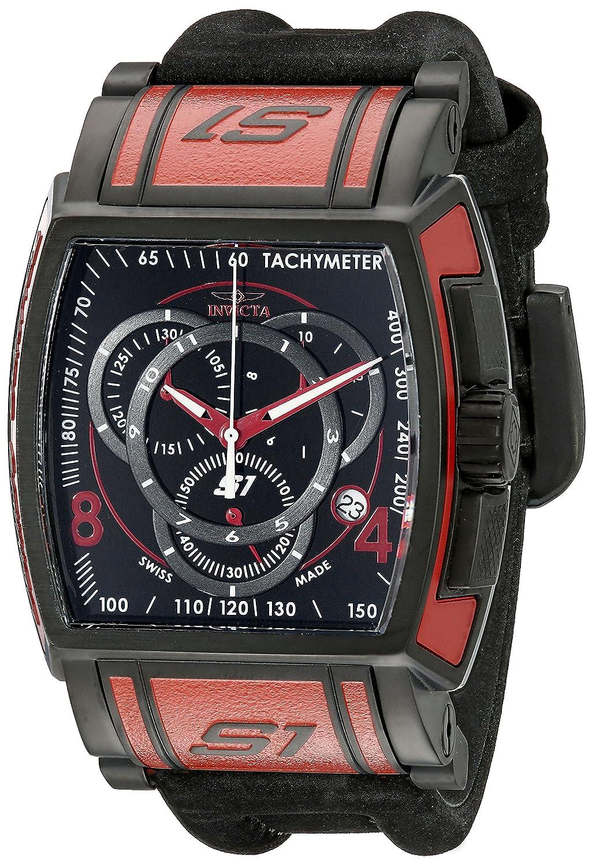 Invicta Men s 12782 S1 Rally Analog Display Swiss Quartz Black Watch