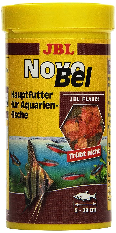 JBL Alleinfutter für alle Aquarienfische Flocken 1 l 3014000 Fischfutter Flockenfutter
