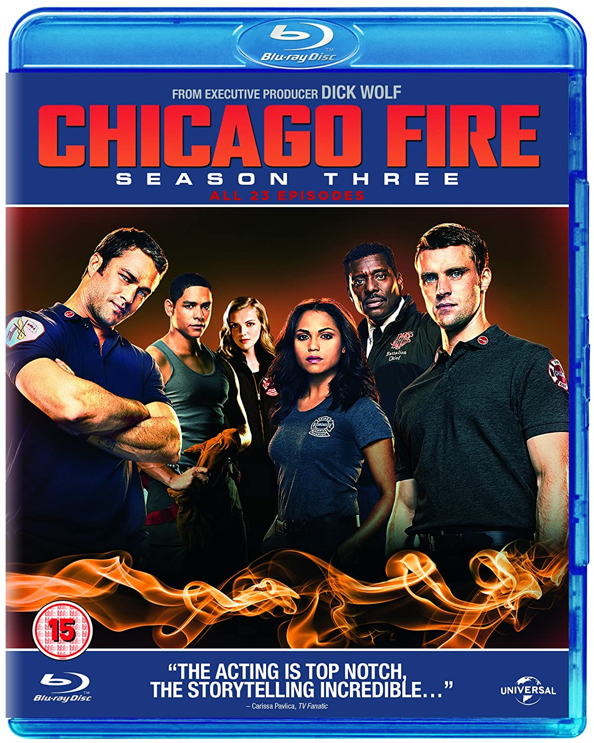 Chicago Fire - Season 3 [Blu-ray] [2014]