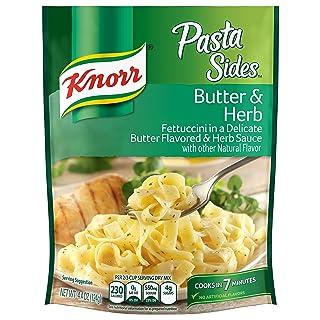 Knorr Pasta Sides Pasta Sides Dish, Butter & Herb 4.4 oz(Pack of 8)