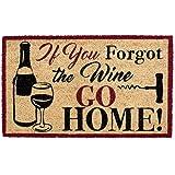 """DII DM Doormat, 18x30"""", Forgot the Wine"""