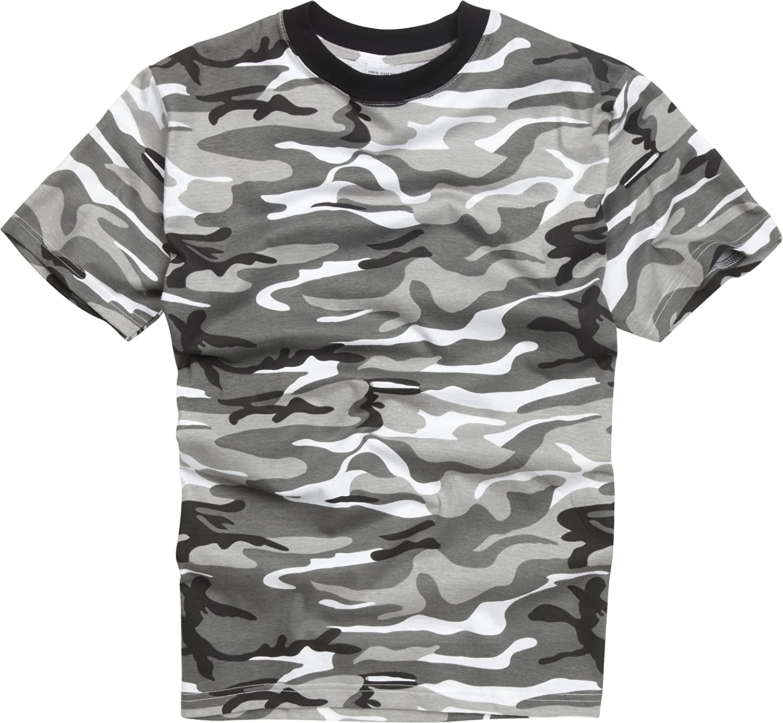 Camiseta estilo militar de camuflaje. Urbano (2XL): Amazon.es ...