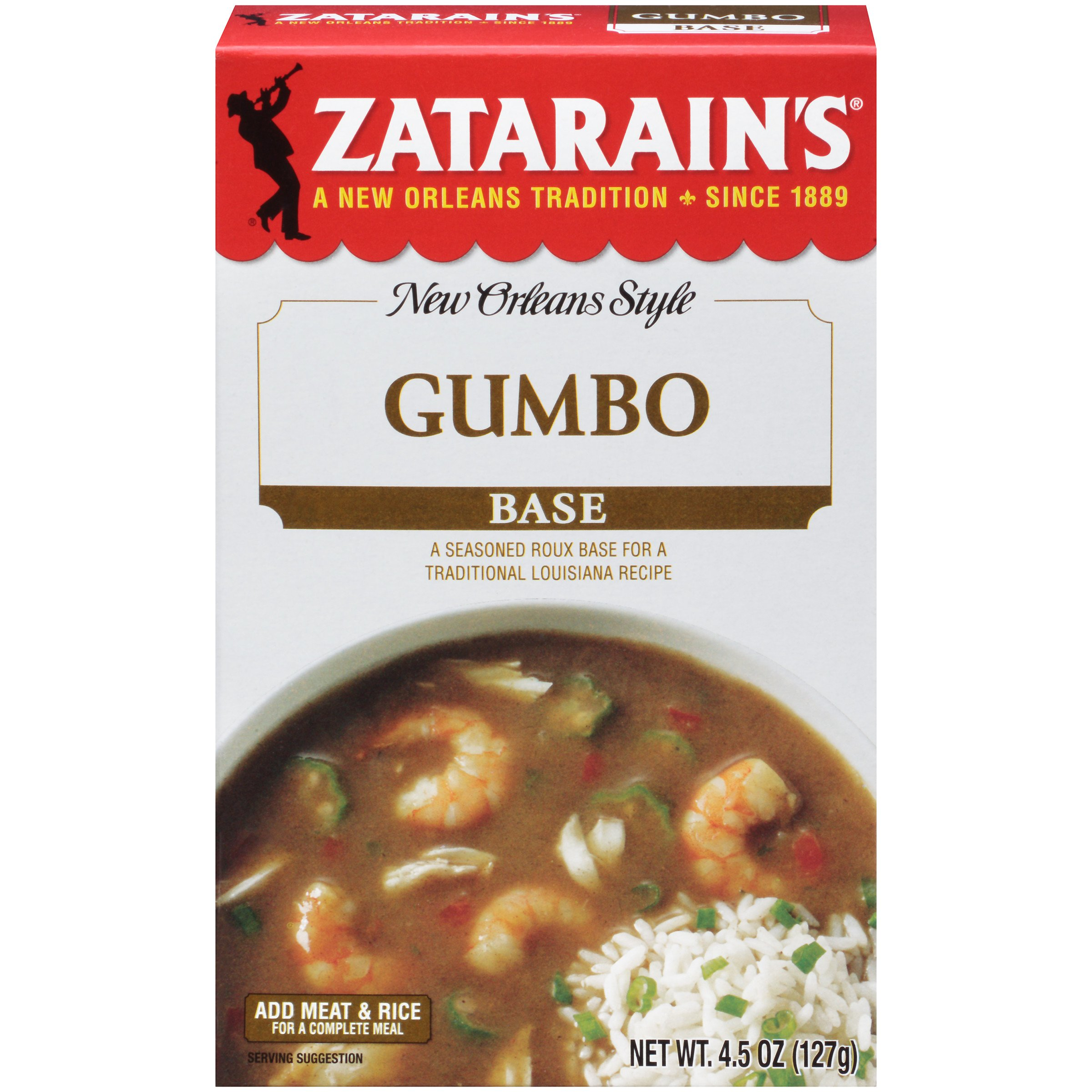 amazon com zatarain u0027s gumbo mix 7 oz case of 12 wild rice