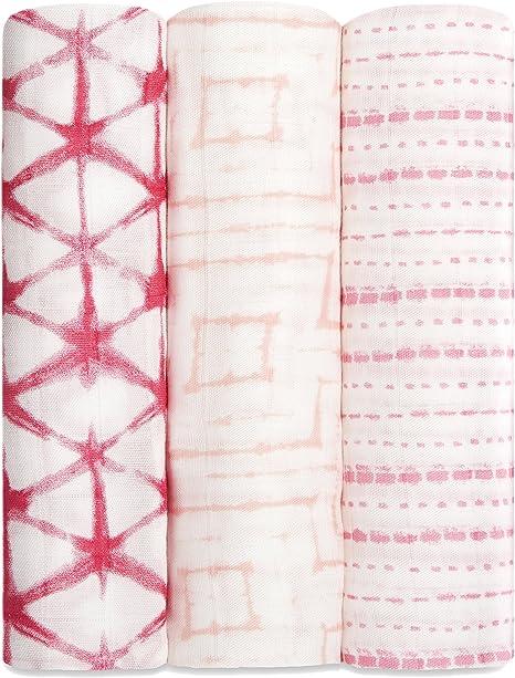 Aden + Anais Silky Soft - Pack de tres muselinas: Amazon.es: Bebé