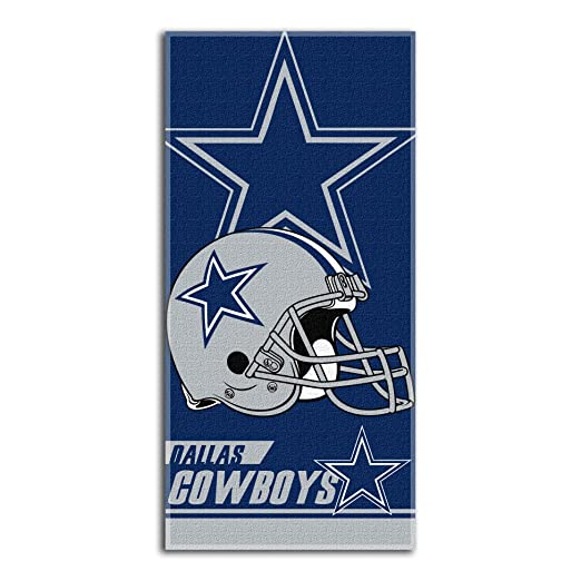 Amazon.com   NFL Dallas Cowboys Double Covered Beach Towel 8537df05fe19