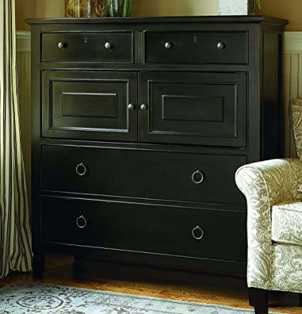 Universal Furniture 988175 Summer Hill Collection Dressing Chest, Midnight,  19u0026quot; ...