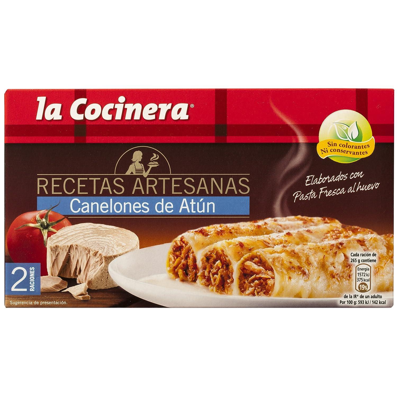La Cocinera - Canelones De Atún, 530 g: Amazon.es: Alimentación y bebidas