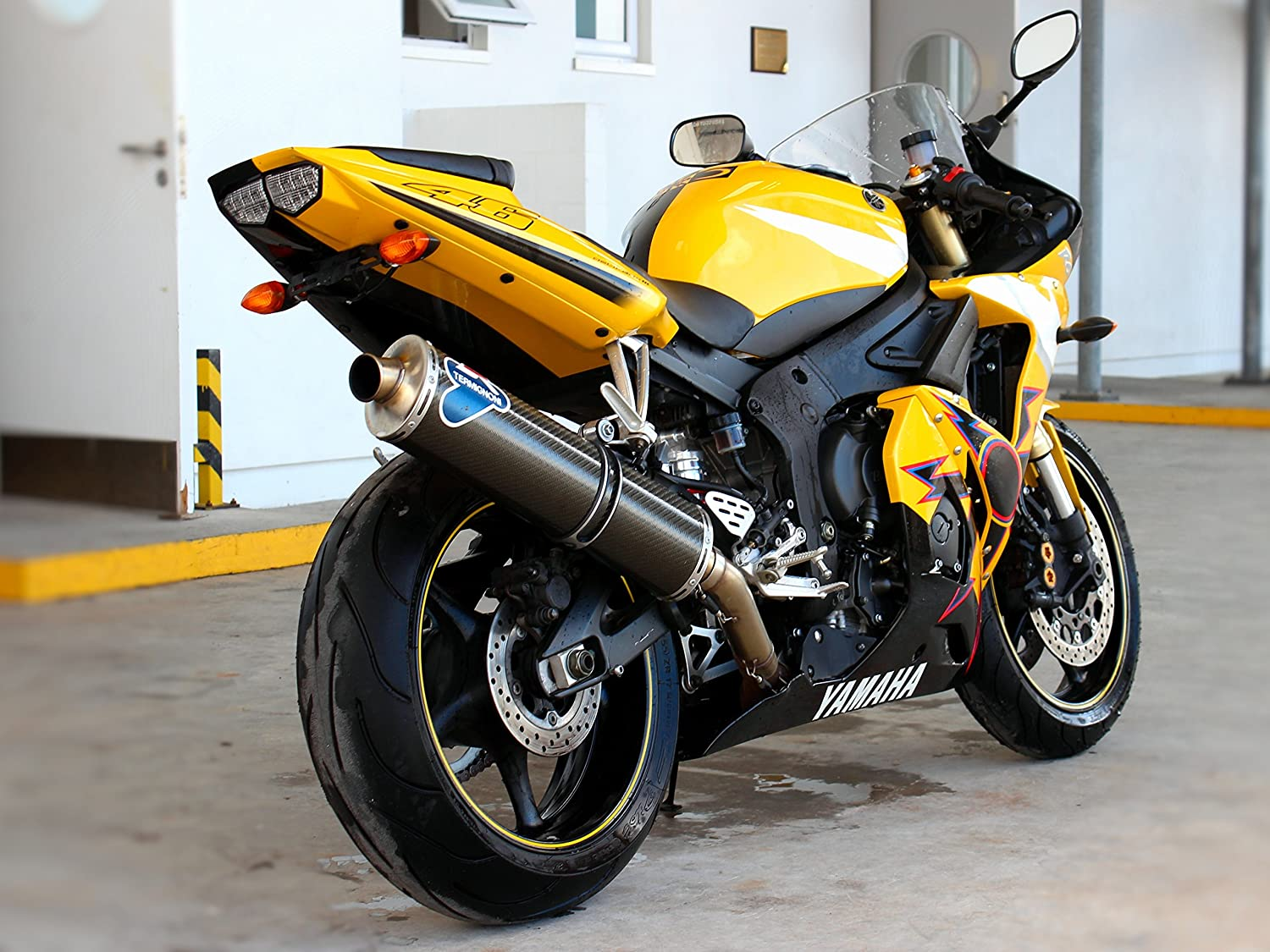 Fender Eliminator//Tail Tidy for the 1st 2nd generation Yamaha YZF-R6
